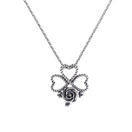 Jeulia Flowering of The Heart Necklace