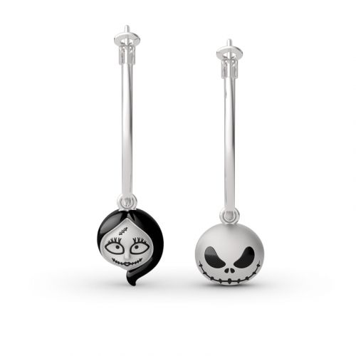 "Jeulia ""Everlasting Love"" Sterling Silver Drop Earings"