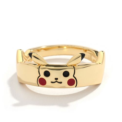 "Jeulia ""I Choose You"" Cute Design Sterling Silver Women's Band"