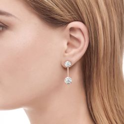 Jeulia Humble Elegance Drop Earrings