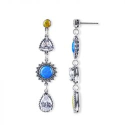 Jeulia Love at First Sight Opal Earrings