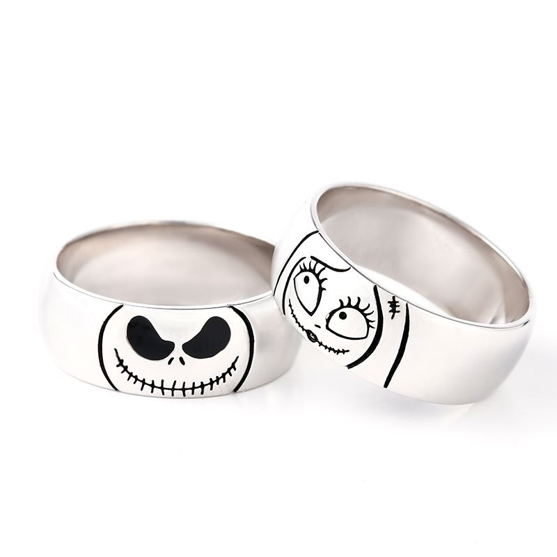 Jack and Sally wedding bands